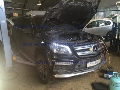 заправка автокондиционера mercedes benz GL